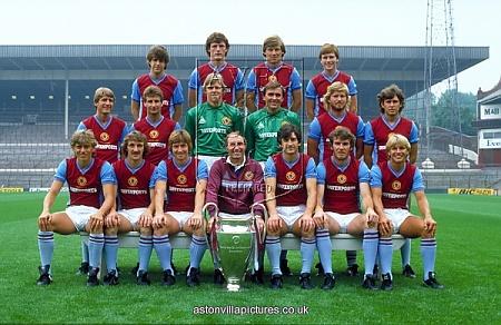 Aston Villa Team Group 1982. European Cup winners